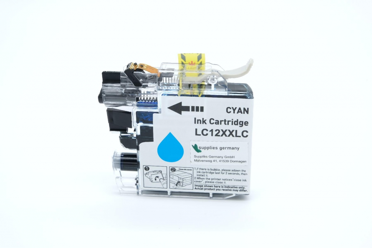 LC12EC Kompatibel zu Brother Cyan
