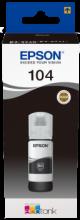 104 EcoTank Schwarz Tintenflasche