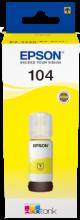 104 EcoTank Gelb Tintenflasche