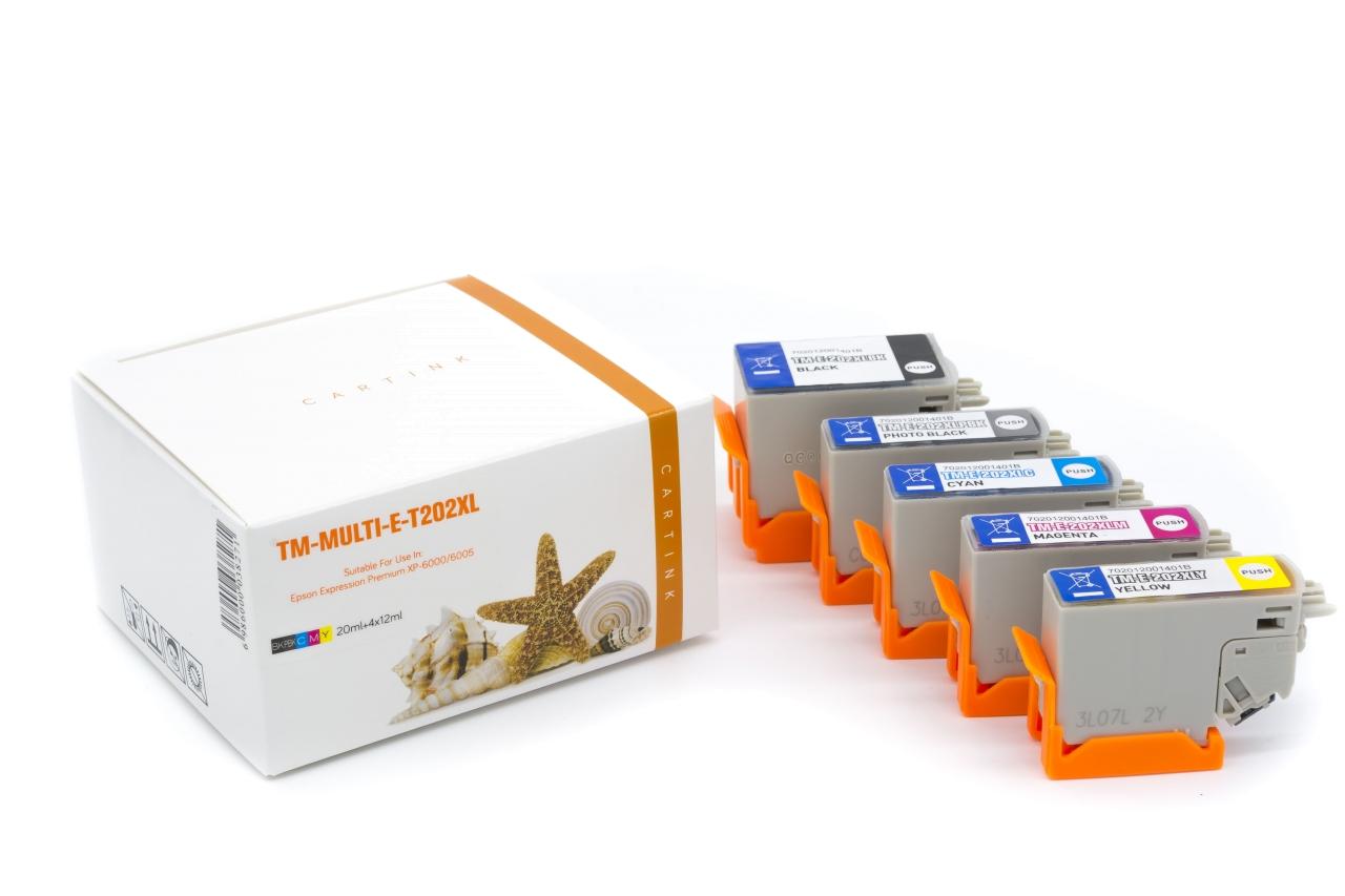 Multipack 202XL Alternativ zu Epson