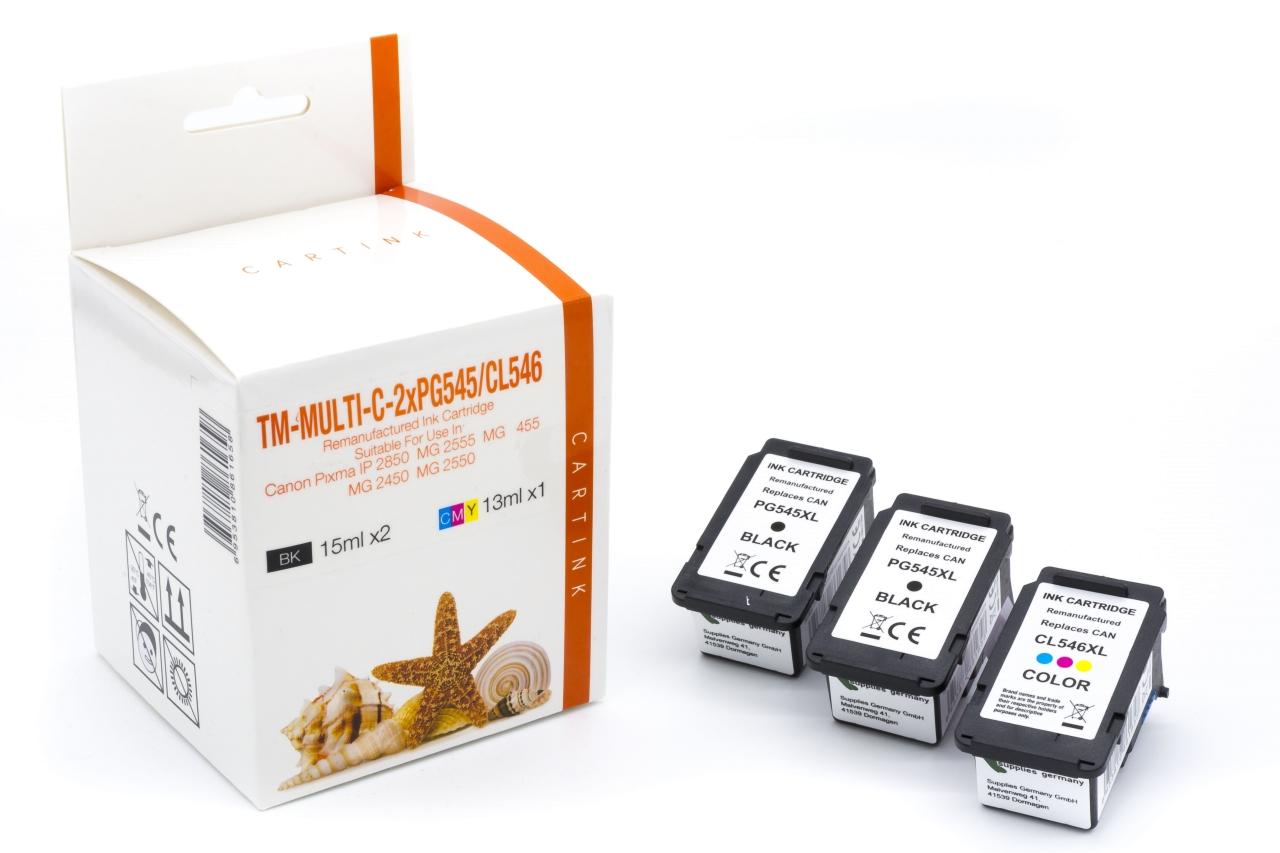 Alternativ zu Canon PG-545XL / CL-546XL Multipack